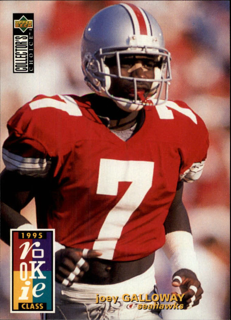 1995 Collector's Choice #8 Joey Galloway RC