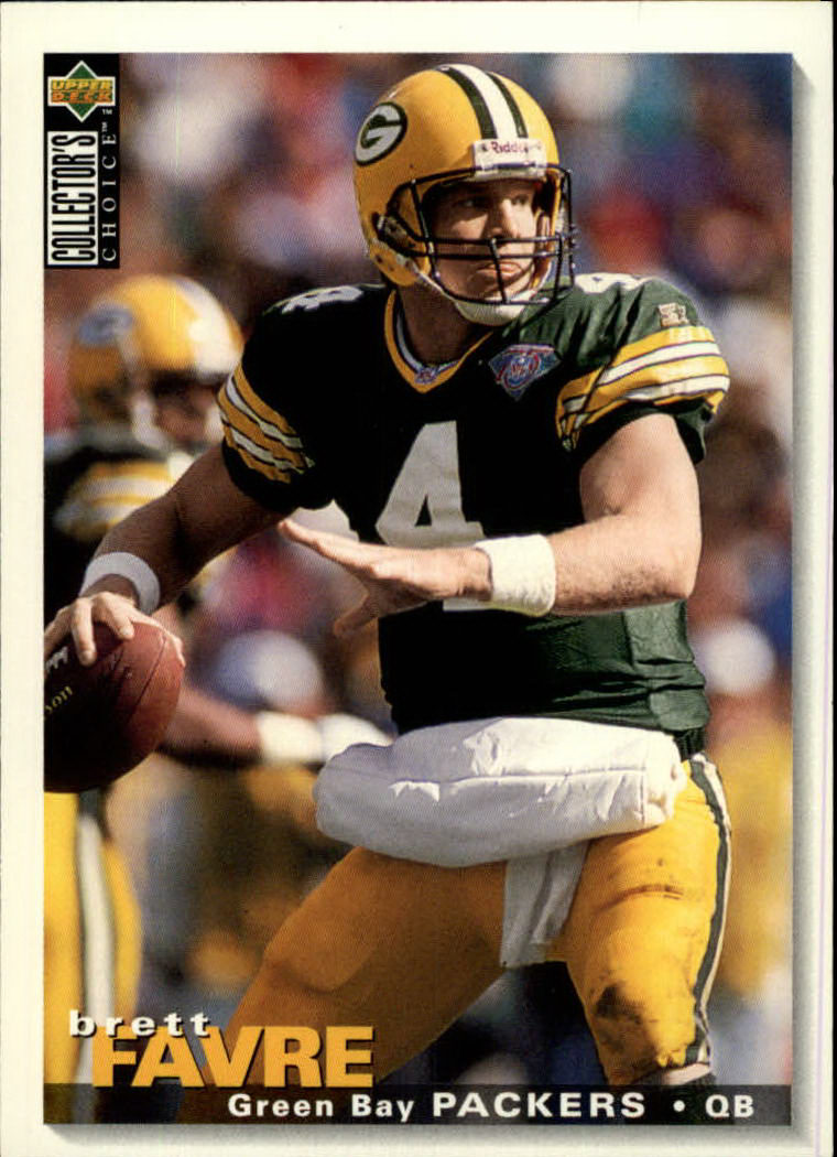 1995 Collector's Choice #73 Brett Favre