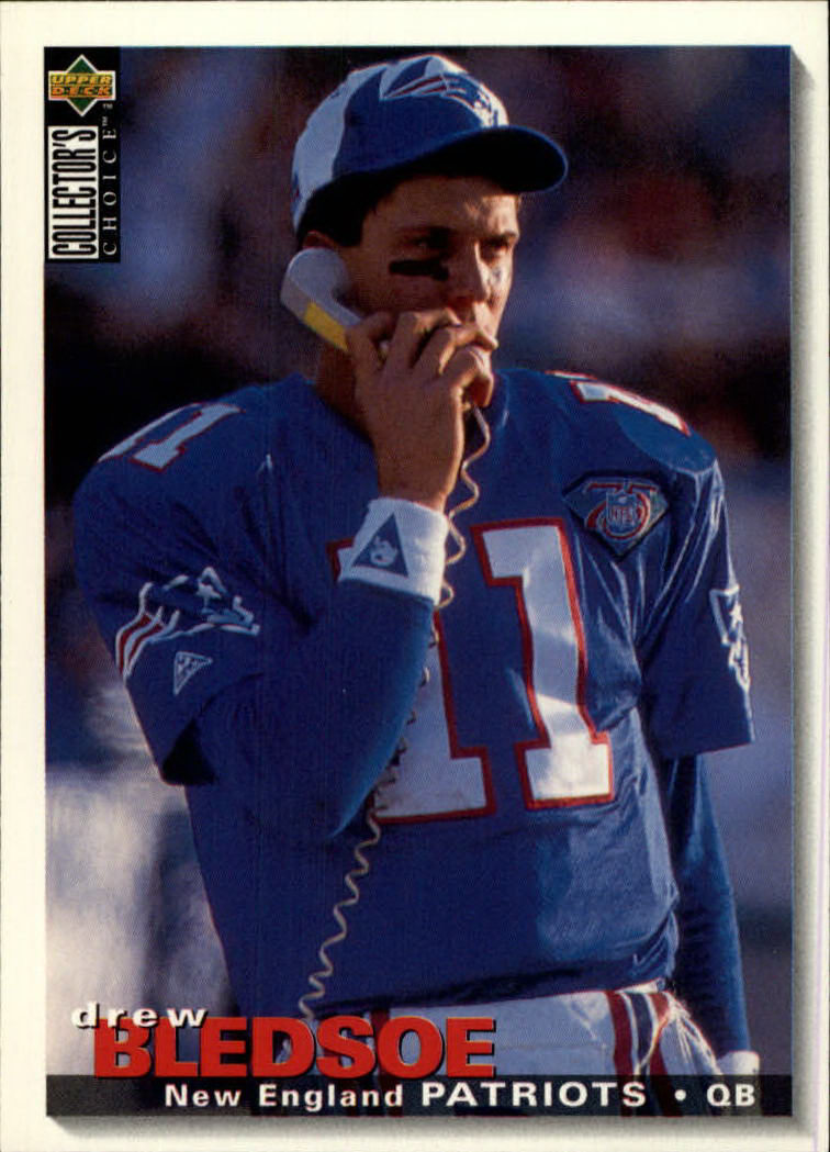1995 Collector's Choice #138 Drew Bledsoe