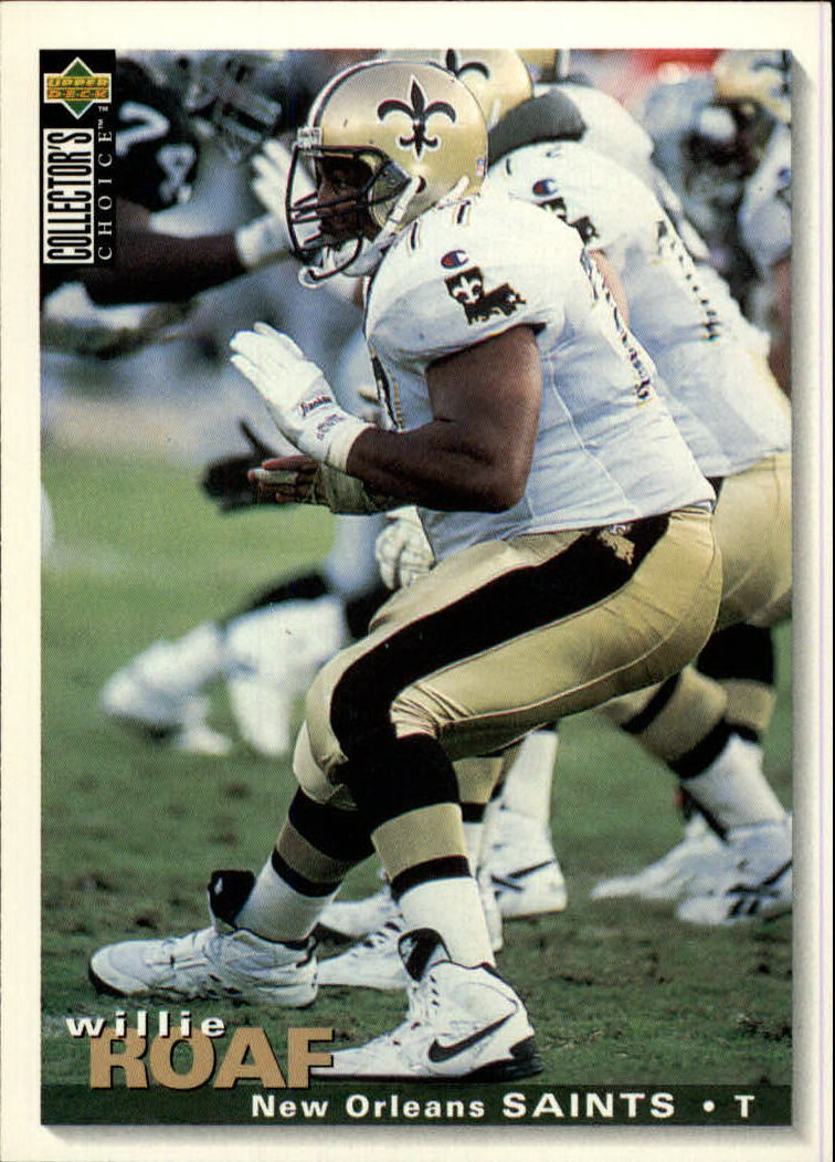 1995 Collector's Choice #187 Willie Roaf