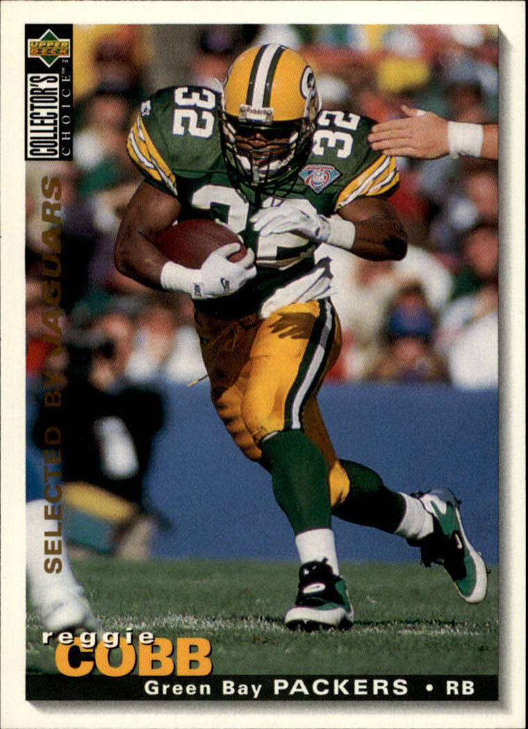 1995 Collector's Choice #335 Reggie Cobb