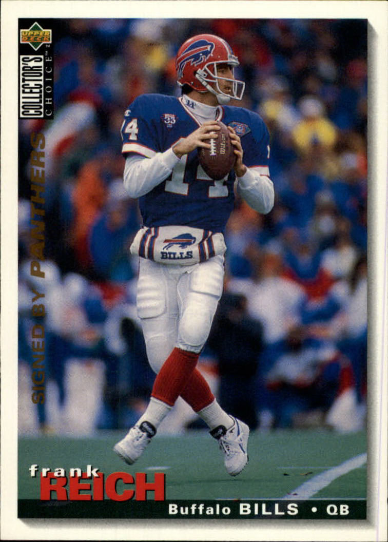 1995 Collector's Choice #341 Frank Reich