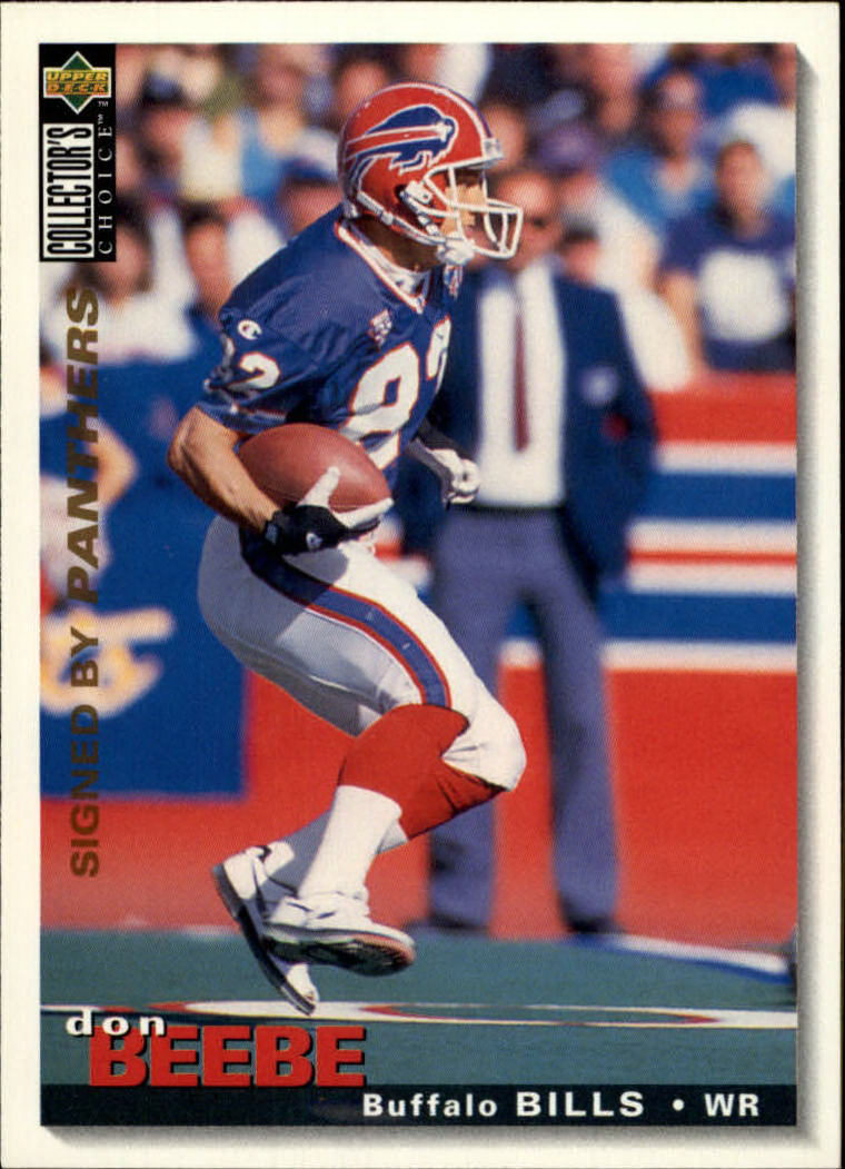 1995 Collector's Choice #342 Don Beebe