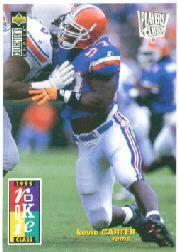 1995 Collector's Choice Player's Club #6 Kevin Carter
