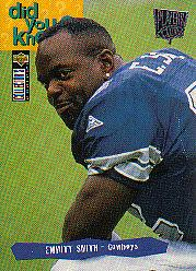 1995 Collector's Choice Player's Club #50 Emmitt Smith DYK