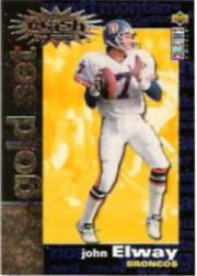 1995 Collector's Choice Crash The Game Gold Redemption #C2 John Elway