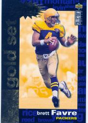 1995 Collector's Choice Crash The Game Gold Redemption #C6 Brett Favre