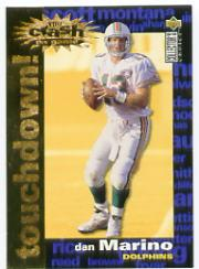 1995 Collector's Choice Crash The Game Gold TD Redemption #C1 Dan Marino