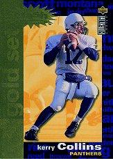 1995 Collector's Choice Crash The Game Gold TD Redemption #C3 Kerry Collins