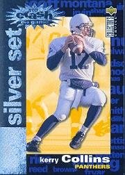 1995 Collector's Choice Crash The Game Silver Redemption #C3 Kerry Collins