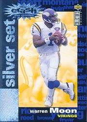 1995 Collector's Choice Crash The Game Silver Redemption #C8 Warren Moon