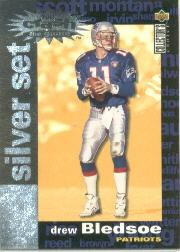 1995 Collector's Choice Crash The Game Silver Redemption #C9 Drew Bledsoe