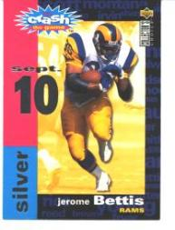 1995 Collector's Choice Crash The Game Silver Redemption #C16 Jerome Bettis