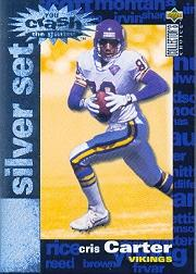 1995 Collector's Choice Crash The Game Silver Redemption #C21 Cris Carter