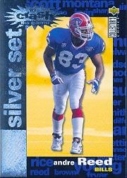 1995 Collector's Choice Crash The Game Silver Redemption #C24 Andre Reed