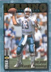 1995 Collector's Choice Dan Marino Chronicles #DM5 Dan Marino