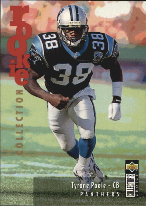 1995 Collector's Choice Update #U7 Tyrone Poole