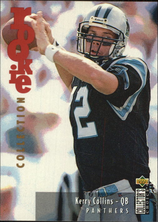 1995 Collector's Choice Update #U8 Kerry Collins