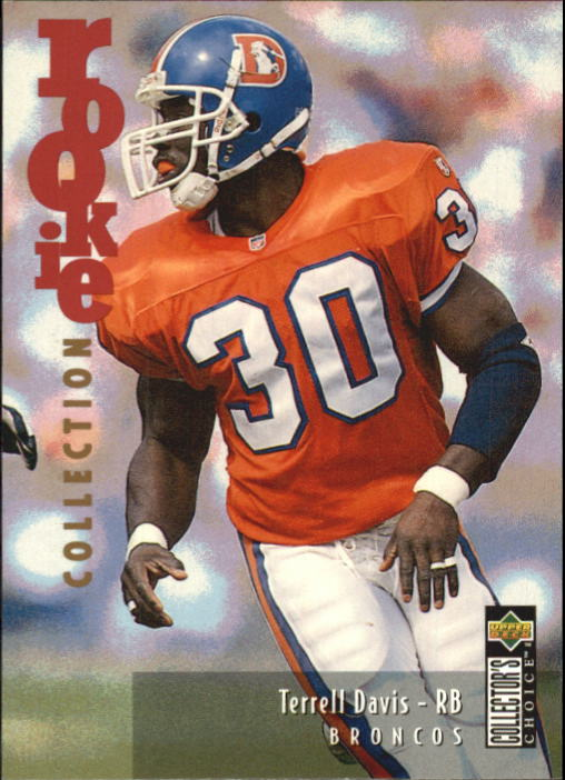 1995 Collector's Choice Update #U17 Terrell Davis RC