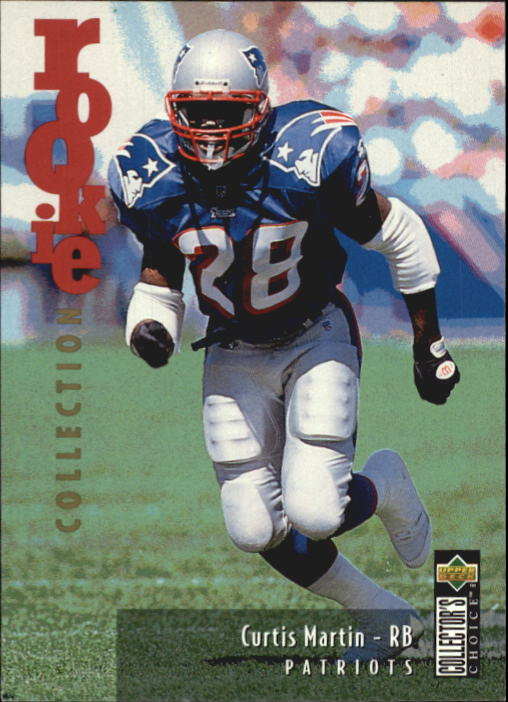 1995 Collector's Choice Update #U38 Curtis Martin RC