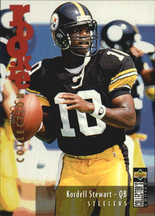1995 Collector's Choice Update #U51 Kordell Stewart RC