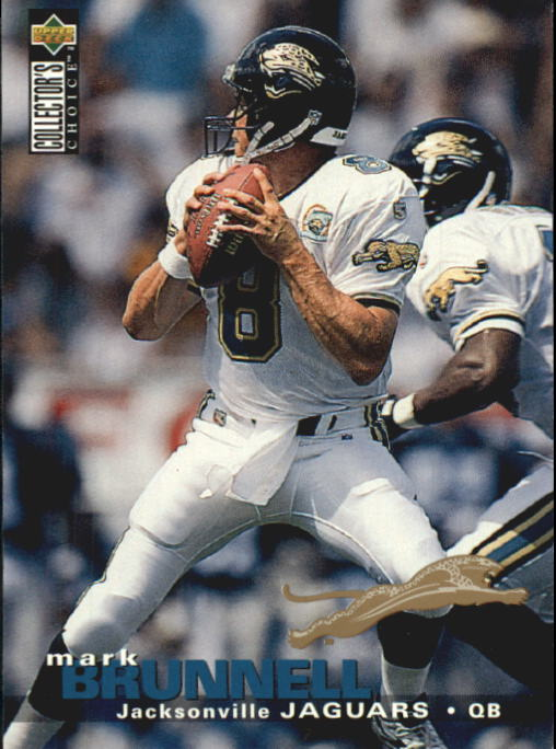 1995 Collector's Choice Update #U111 Mark Brunell