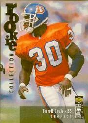 1995 Collector's Choice Update Silver #U17 Terrell Davis