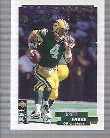 1995 Collector's Choice Update Post Season Heroics #13 Brett Favre
