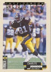 1995 Collector's Choice Update Post Season Heroics Gold #6 Charles Johnson