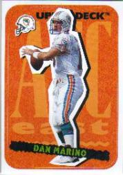 1995 Collector's Choice Update Stick-Ums #18 Dan Marino