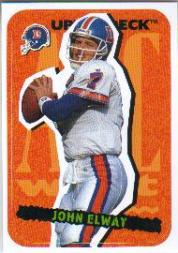 1995 Collector's Choice Update Stick-Ums #26 John Elway