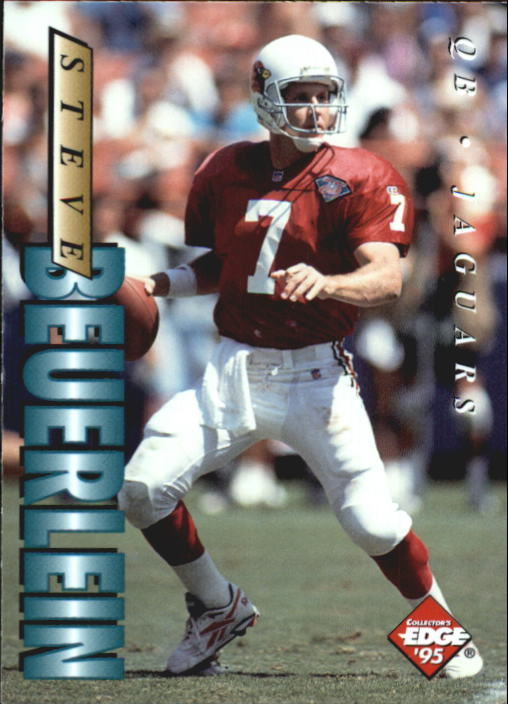 1995 Collector's Edge #86 Steve Beuerlein