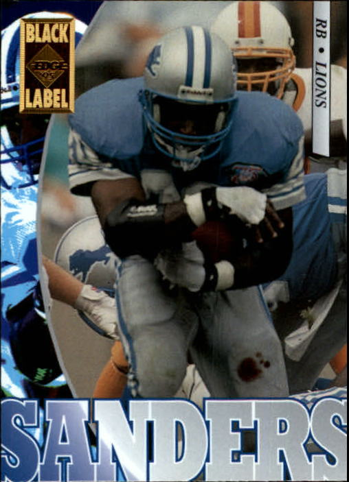 1995 Collector's Edge Black Label #69 Barry Sanders