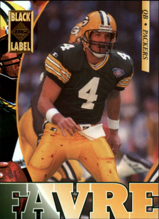1995 Collector's Edge Black Label #71 Brett Favre
