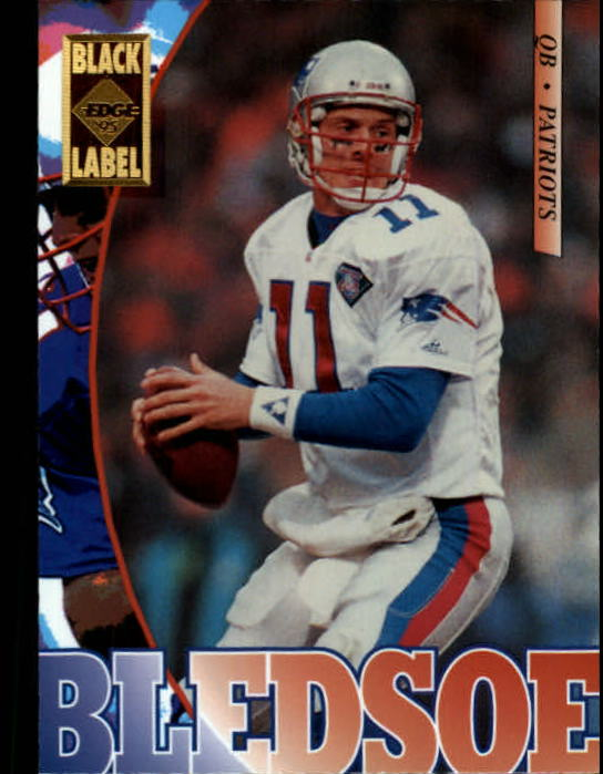 1995 Collector's Edge Black Label #129 Drew Bledsoe