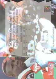 1995 Collector's Edge Die Cuts #42 Dan Wilkinson back image