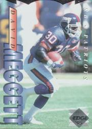 1995 Collector's Edge Die Cuts #132 Dave Meggett