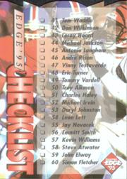 1995 Collector's Edge Die Cuts #202 Checklist