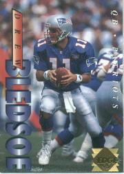 1995 Collector's Edge Gold Logo #129 Drew Bledsoe