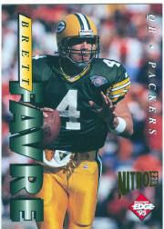 1995 Collector's Edge Nitro 22K #71 Brett Favre