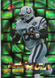 1995 Collector's Edge EdgeTech #7 Marshall Faulk