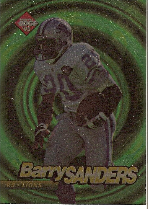 1995 Collector's Edge EdgeTech #23 Barry Sanders