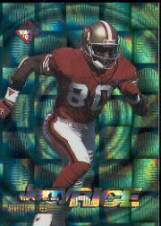 1995 Collector's Edge EdgeTech Circular Prisms #22 Jerry Rice
