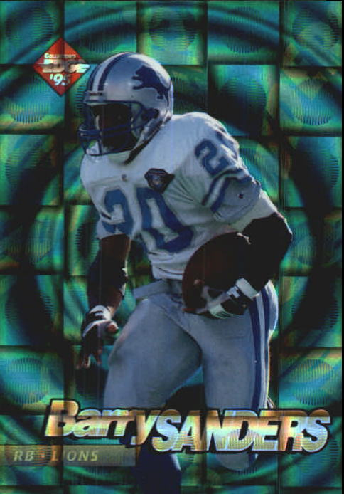 1995 Collector's Edge EdgeTech Circular Prisms #23 Barry Sanders