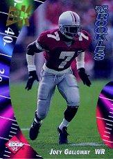 1995 Collector's Edge Rookies 22K Gold #17 Joey Galloway