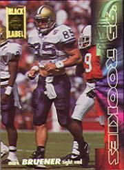 1995 Collector's Edge Rookies Black Label #16 Mark Bruener