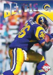 1995 Collector's Edge Instant Replay #19 Jerome Bettis