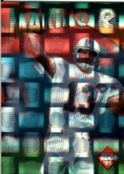 1995 Collector's Edge Instant Replay Prisms #20 Dan Marino