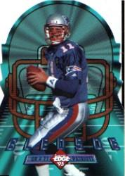 1995 Collector's Edge Instant Replay EdgeTech Die Cuts #2 Drew Bledsoe