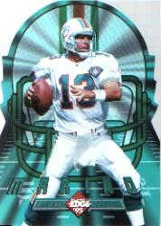 1995 Collector's Edge Instant Replay EdgeTech Die Cuts #7 Dan Marino